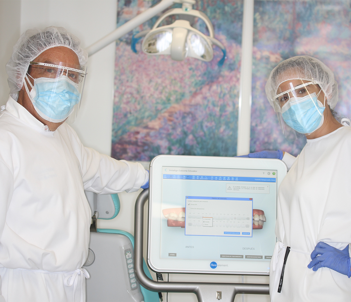 Escaner intraoral iTero invisalign